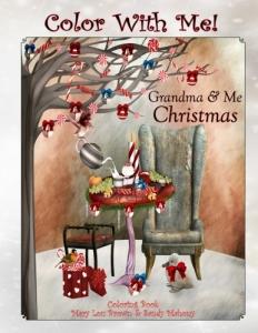 Grandma Me Christmas Coloring Book